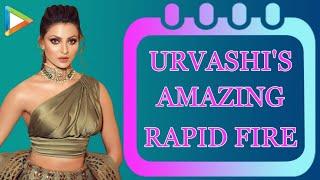 Urvashi Rautela's SUPERB Rapid Fire | Salman Khan | Priyanka Chopra | Varun Dhawan | Tiger Shroff