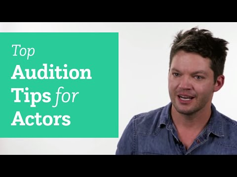 Top Audition Tips for Actors