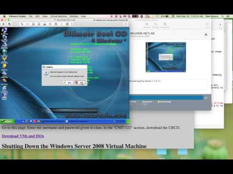 Using the Ultimate Boot CD to Create Administrator Accounts