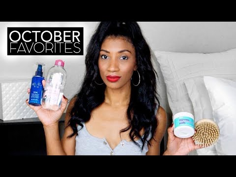 MY FAVORITE THINGS for October - Hair, Beauty + Life Essentials!!