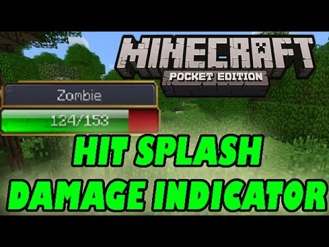 Mob Health Bar Indicator Minecraft PE: Mod Showcase [0.8.1]