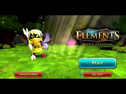Elements Epic Heroes Google Play Launch Trailer