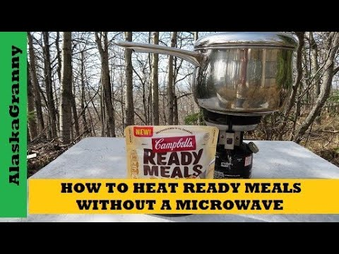 How to Heat Ready Meals Without A Microwave