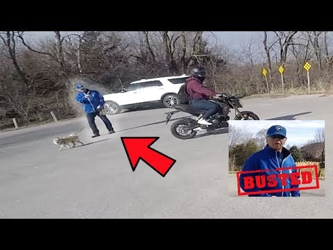 Confronting Old Man For Taking Picture of Keith's Girlfriend!