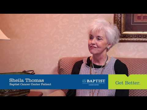 Baptist Cancer Center patient shares her experience