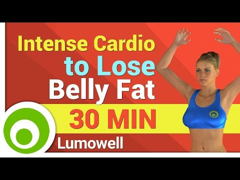 Intense Cardio Workout to Lose Belly Fat