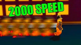 ROBLOX SPRINTING SIMULATOR *2000 SPEED!!*
