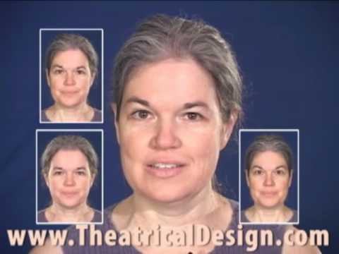 Theatrical Makeup: Photographing Your Face