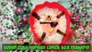WTF - Cute Korean Lunch Box Making Kit