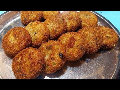सुबह हो या शाम बनाये ये टेस्टी कटलेट - Suji Upma Cutlet - Rava Upma Cutet - Sangita Agarwal