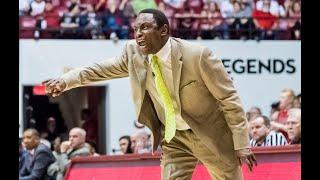 Avery Johnson reacts to loss to Arkansas