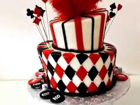 How to make cake Vegas theme birthday cake   Pastry Palace of Las Vegas