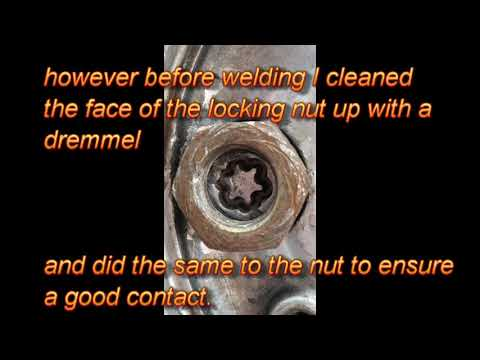 McGard spinning collar wheel locking nut removal without key (due to damaged nut)