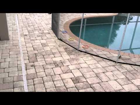 Paver cleaning & sealing Tampa FL