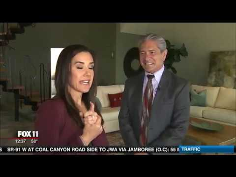 Fox 11's Hot Property Features the Malibu Pyramid House