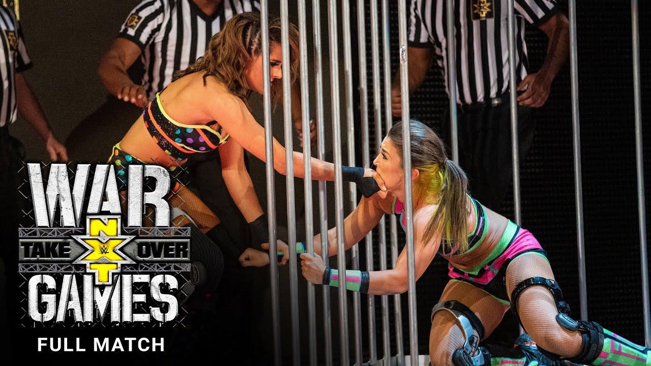 FULL MATCH - Team Ripley vs. Team Baszler – WarGames Match: NXT TakeOver: WarGames 2019
