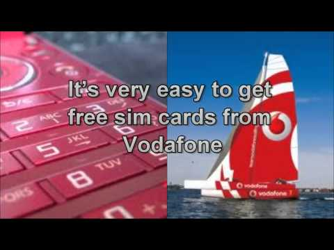 Gsm Cards_ How To Get Free Vodafone Sim Card Mobile Network In The Uk