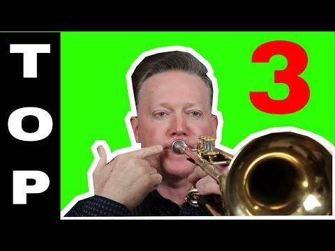 Top 3 Most Popular High Note Techniques - Trumpet Lesson by Kurt Thompson