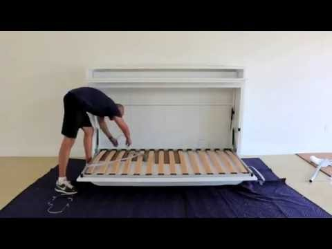 GENIO T - TWIN WALL BED WITH TABLE (Assembly Guide)