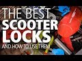 The best scooter locks and how to use them