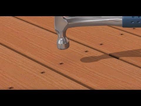 Deck-Drive™ DCU Screw Plug Solution Decking Installation