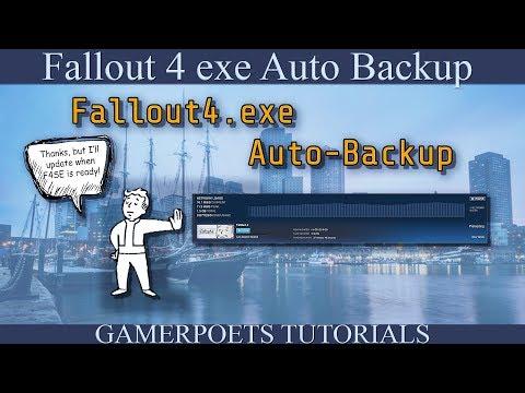 Fallout 4 : .exe Auto Backup