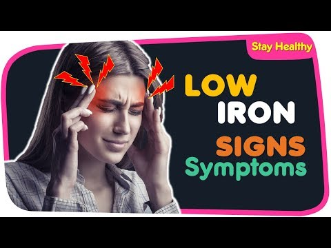 6 Unusual Signs of Iron Deficiency