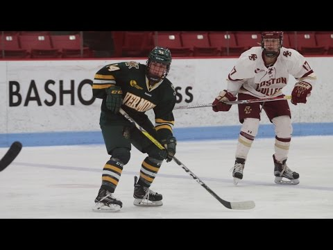 Women's Hockey: HEA Semifinals - (5) Vermont vs. (1) Boston College (3/4/17)