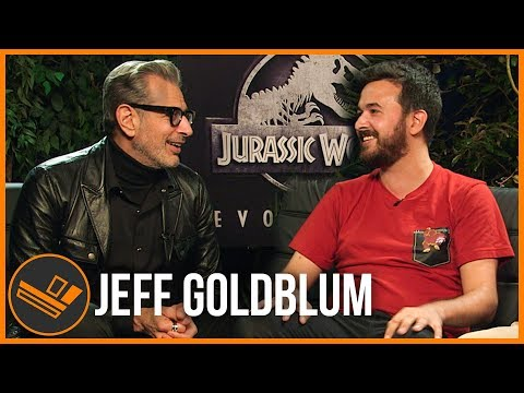 Hanging out with JEFF GOLDBLUM