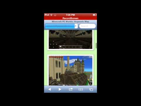 How to download maps on minecraft pe ios 2014 no jailbreak!