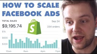 Facebook Ads Scaling Strategy ($0 - $9,195 in 3 Days)
