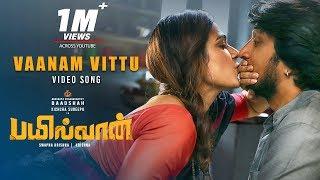 Vaanam Vittu Video Song | Bailwaan Tamil | Kichcha Sudeepa, Aakanksha Singh | Krishna | Arjun Janya