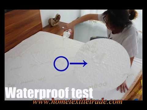 Waterproof Mattress Cover For Baby Crib