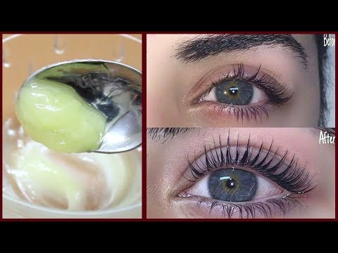 How To GROW LONG EYELASHES | Eyelash Growth Serum | Get Natural Long Eyelashes