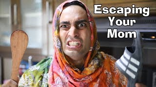 """When You Try To Escape Your Mom"" -By Danish Ali"