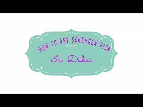 how to apply schengen visa in dubai