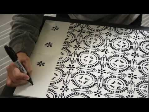 How to Tile a Table Top With Your Own Tile - Thrift Diving