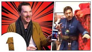 Benedict Cumberbatch reacts to Doctor Strange memes