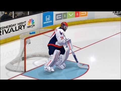 NHL 14 - Washington Capitals vs. Boston Bruins Gameplay [HD]