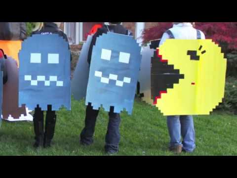 How to Make Pac Man & the Ghosts Costumes