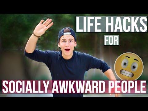 LIFE HACKS FOR SOCIALLY AWKWARD PEOPLE!