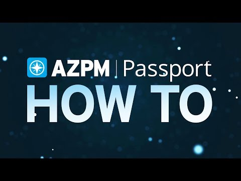 Learn How to Use AZPM Passport