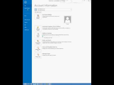 How to Backup / Export Email from Outlook to PST
