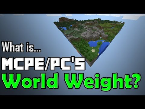 How HEAVY is a Minecraft world? You will never believe these facts I am about to share.