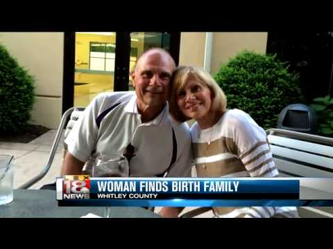 Woman finds her birth family 60 years after adoption