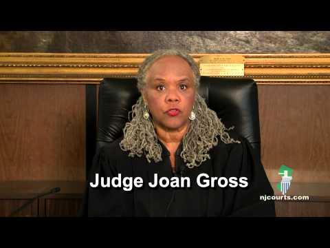 NJ Municipal Court Traffic Session Opening Statement