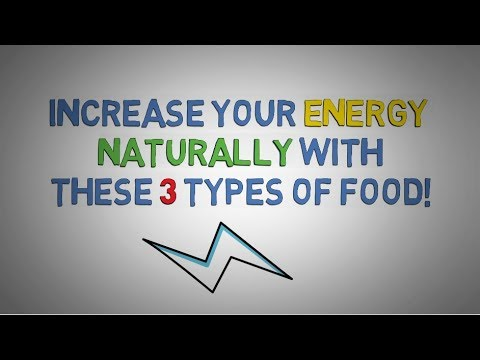 How To BOOST ENERGY Naturally - 3 Foods that Increase Energy