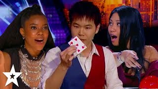MINDBLOWING Auditions By Magician ERIC CHIEN On Got Talent!   Got Talent Global