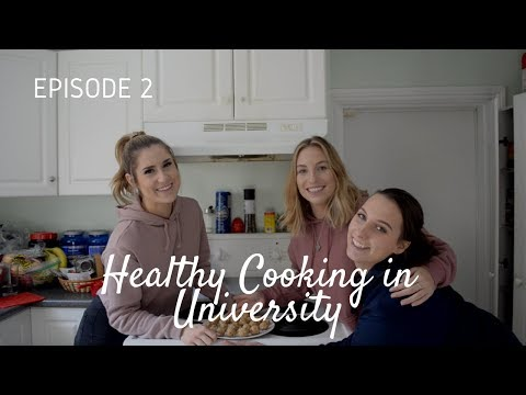 Protein Energy Balls | Healthy Cooking In University: Episode 2