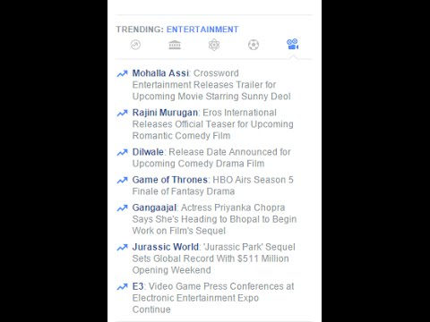 How to check trending videos on facebook I Facebook FAQs